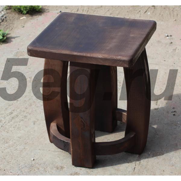 Табурет деревянный массив