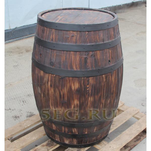 Муляж бочки h 95 см (250 литров, состаривание)