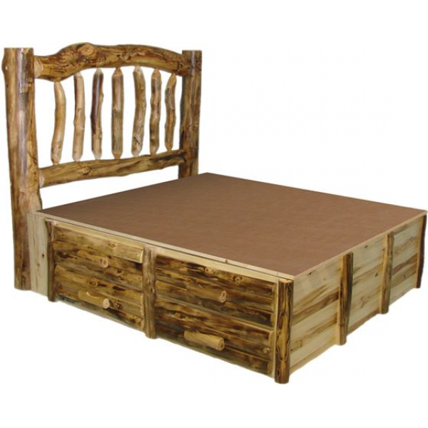 Кровать из массива модель №1