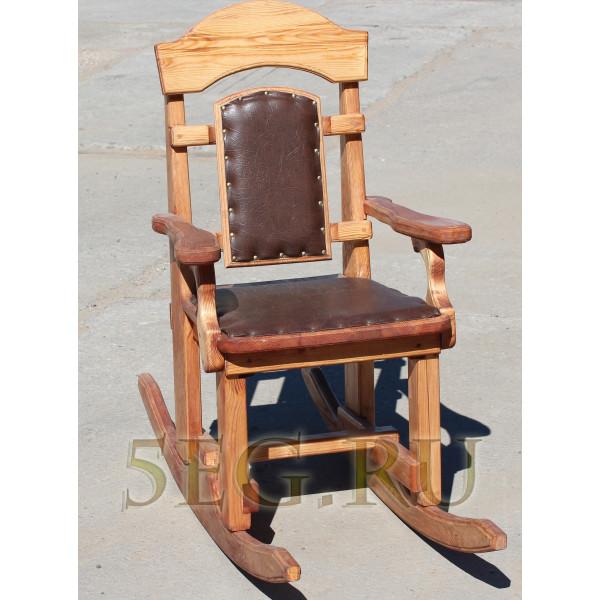 Кресло-качалка массив