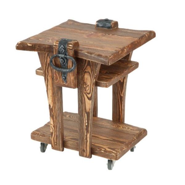 Деревянный журнальный столик модель №7