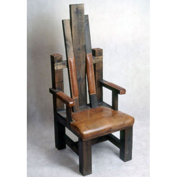 Стул-трон под старину №11