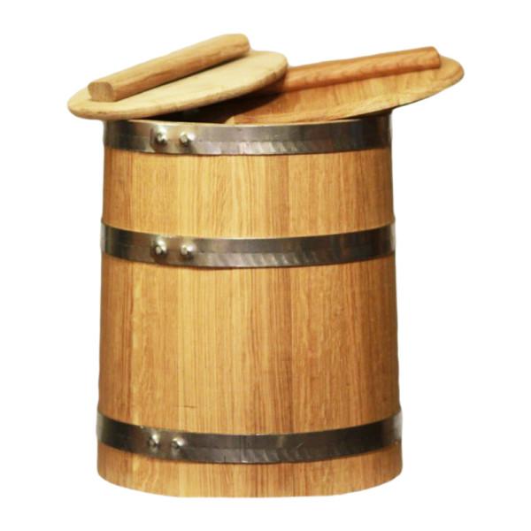 Кадка дубовая 15л (конусной формы)