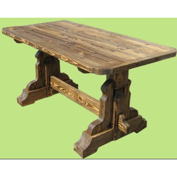 Деревянный обеденный стол  модель №6