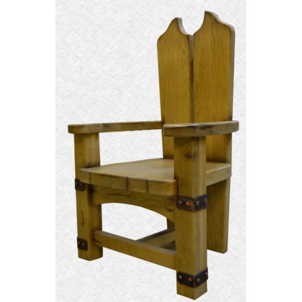 Кресло из массива  №1